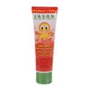 Jasons Strawberry Kids Only Toothpaste (1x42 Oz)