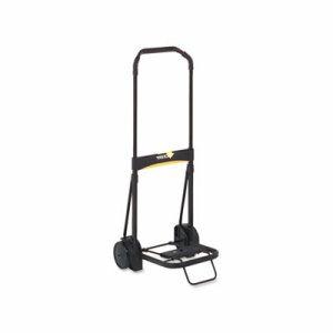 Ultra-Lite Folding Cart, 250lb Capacity, 11 x 13 1/4 Platform, Black