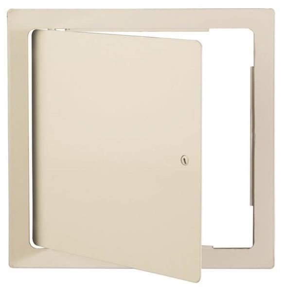 Karp MP88S Universal Access Door, 8 in W x 8 in H, Steel Frame/Door