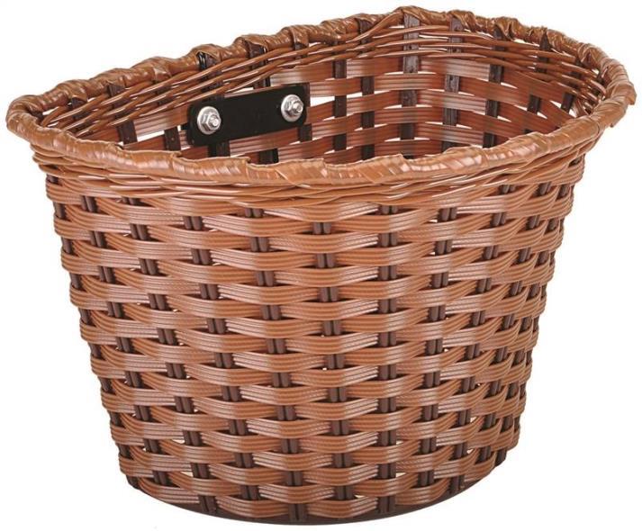 Kent 96028 Bicycle Baskets, Brown, Medium 11 x 7 x 8