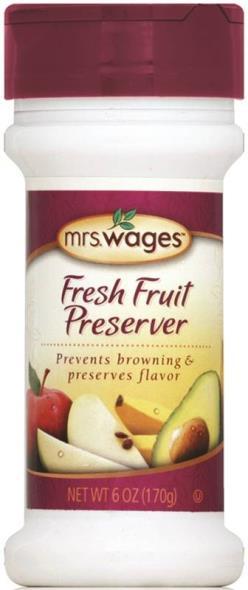 Mrs. Wages W589-H5425 Fresh Fruit Preserver, 6 oz