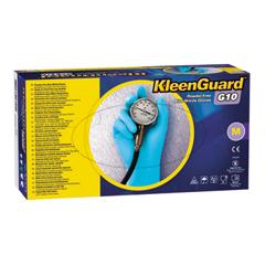 G10 Blue Nitrile Gloves, Powder-Free, Blue, Large, 100/Box