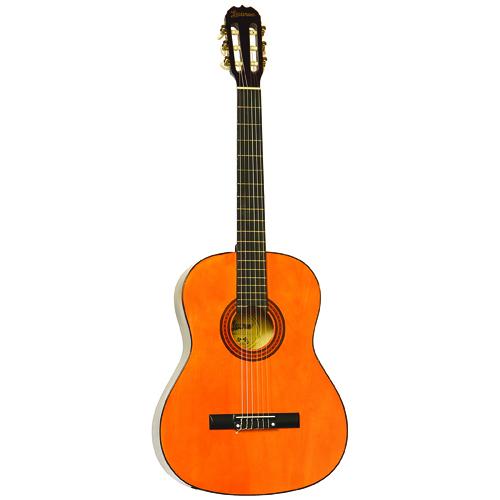 KMC Music Lauren Nylon String Classical Guitar - Natural