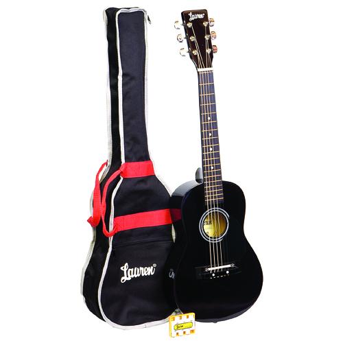 "KMC Music Lauren 30"" Student Guitar Package"