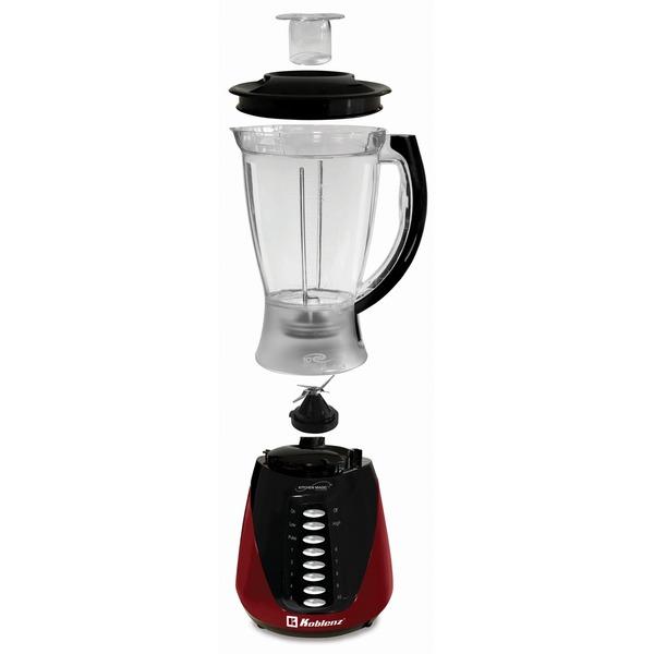 Koblenz LKM-4510 PR 1.5-Liter Kitchen Magic Collection 10 Speed and Pulse Plastic Jar Blender