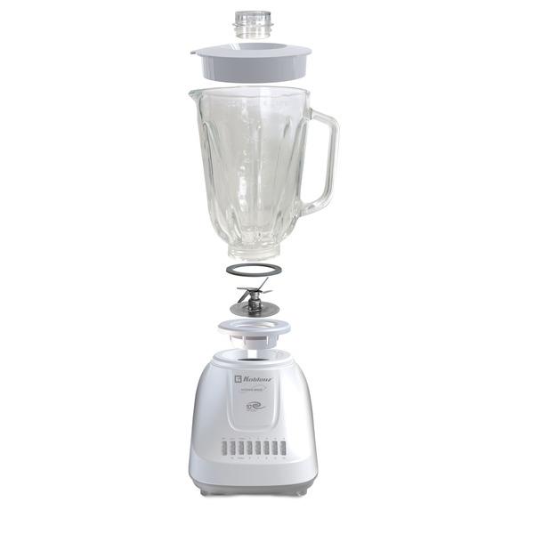 Koblenz LKM-5910 VB 1.5-Liter Kitchen Magic Collection 10 Speed and 2 Pulses Glass Jar Blender