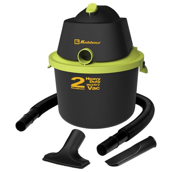 Koblenz WD-2KUS 2-Gallon Wet/Dry Vacuum