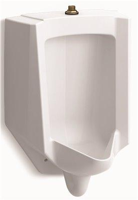 KOHLER BARDON� HIGH-EFFICIENCY URINAL, TOP SPUD, 0.125 TO 1.0 GPF, WHITE