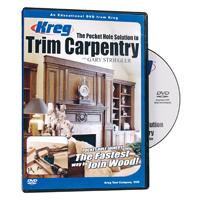 DVD FOR TRIM CARPENTRY