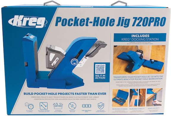 JIG POCKET HOLE PRO 0.5-1.5IN