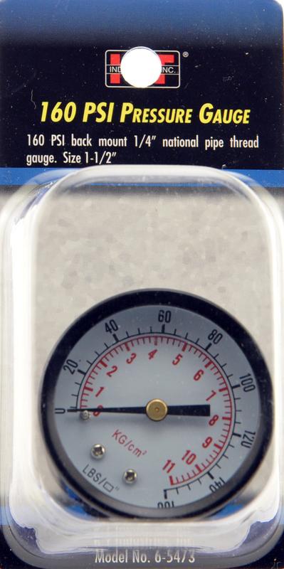 6-5473 1-1/2 REAR GAUGE MOUNT