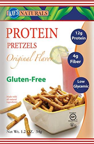 Kay's Naturals High Protein Pretzel Sticks Orange (6 Pack) 12 Oz