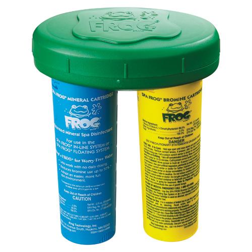 Chemical Feeder, Floating, Spafrog, Mineral/Bromine Cartridge