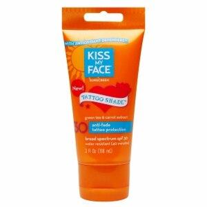 Kiss My Face Sunscreen Tattoo Shade SPF 30 3 Oz