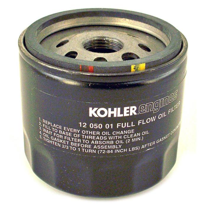 KO-1205001S KOHLER FILTER-OIL SHORT 12 050 01-S (KOHLER OIL FILTER) Kohler Engine Parts