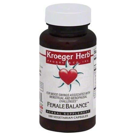 Kroeger Herb Female Balance (100 Capsules)