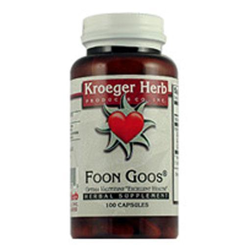 Kroeger Herb Foon Goos (100 Capsules)