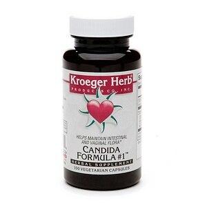 Kroeger Herb Candida Formula # 1 (100 Capsules)