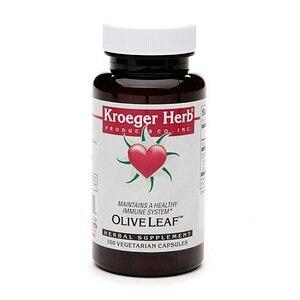 Kroeger Herb Herb Co Olive Leaf (1x100 Caps)