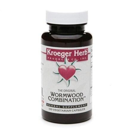 Kroeger Herb Wormwood Combination (100 Veg Capsules)