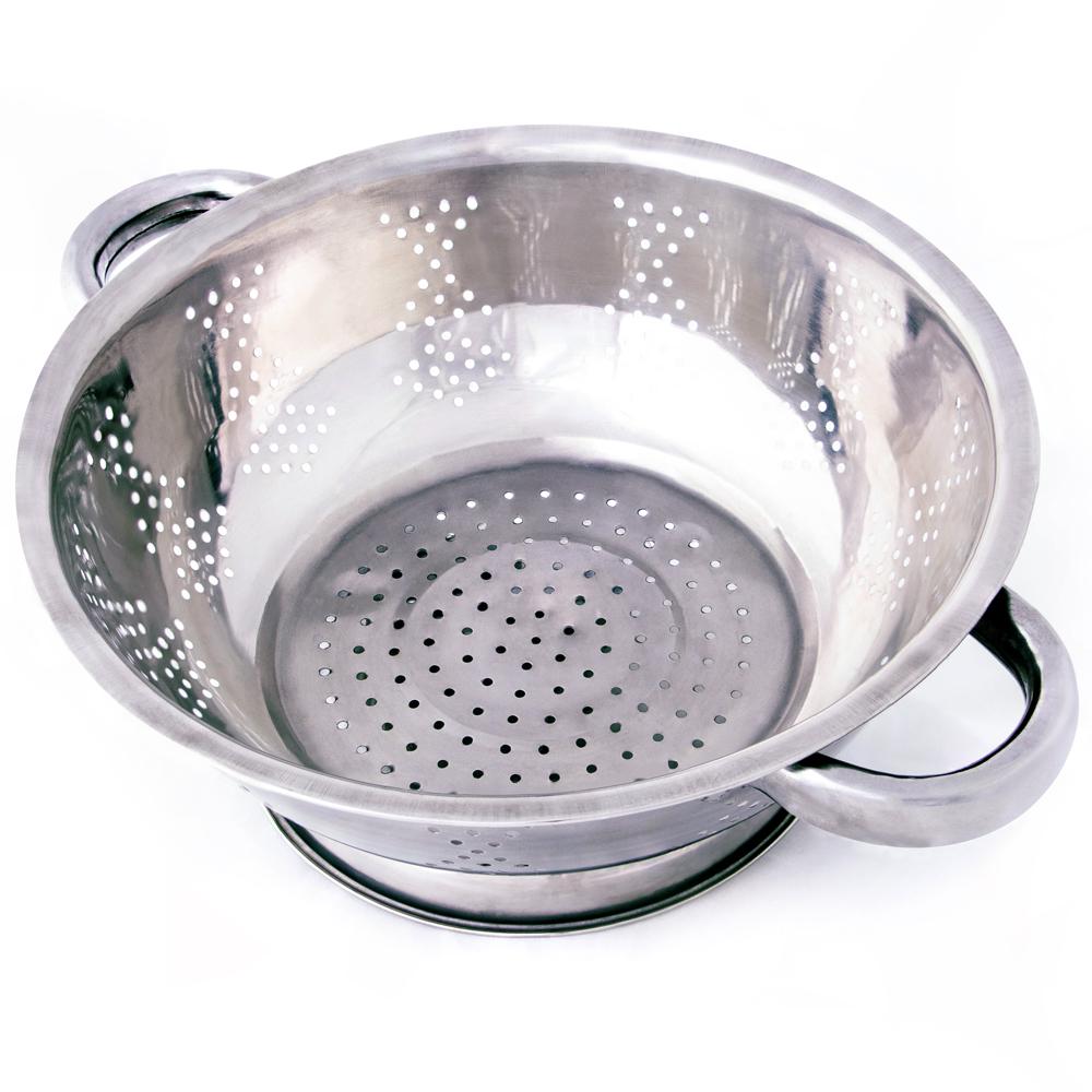 Stainless Steel Kitchen Colander- 2.5 Qt.