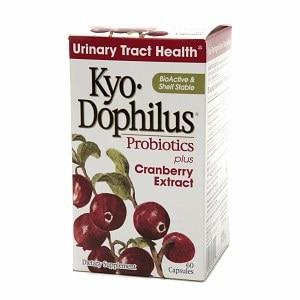 Kyolic Cran Logic Cran-Max Cranberry Extract plus Probiotics (60 Capsules)
