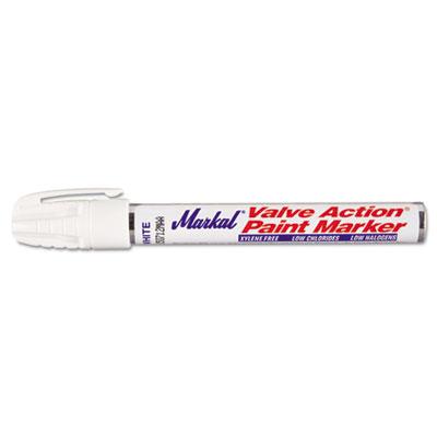 Valve Action Paint Marker, White