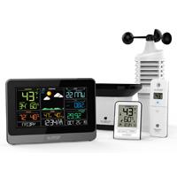La Crosse WS-1517 Wireless Weather Station, 100 ft, 14.2 - 140 deg F Indoor, -40 TO 176 deg F Outdoor