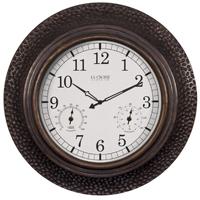 CLOCK WALL IN/OTD POLYRSN 22IN