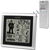 La Crosse 308-1451H Wireless Forecast Station, 433 MHz, 32 - 122 deg F Indoor, -40 TO 140 deg F Outdoor