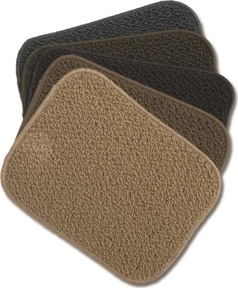 Dennis UR2436AST Mat Carpet, 36 in L x 24 in W, Polypropylene, Assorted