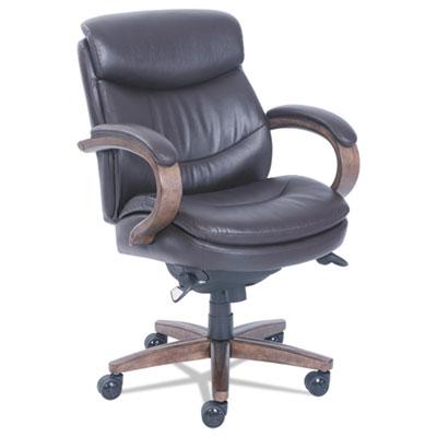 Woodbury Mid-Back Executive Chair, Brown