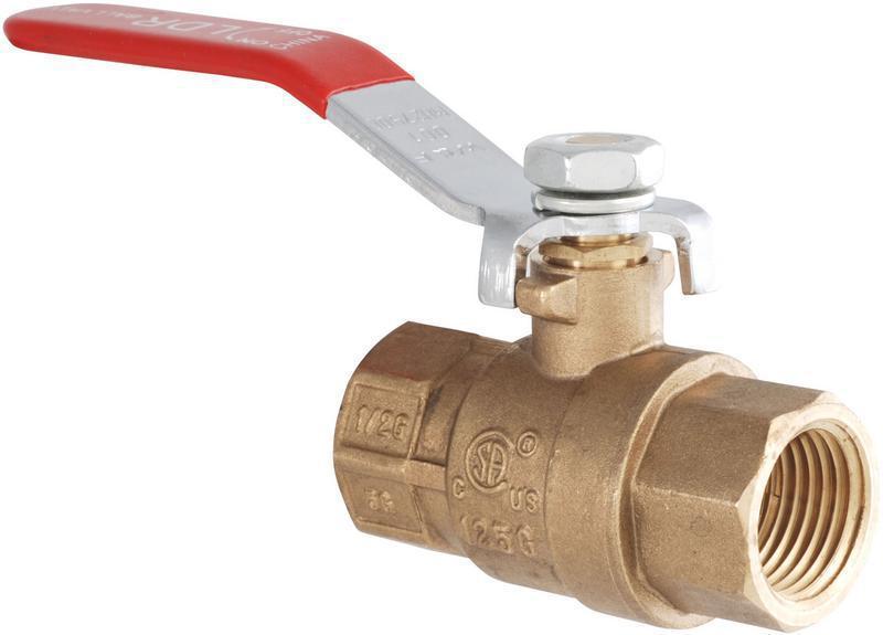 0201515 1-LEVER GAS VALVE AGA