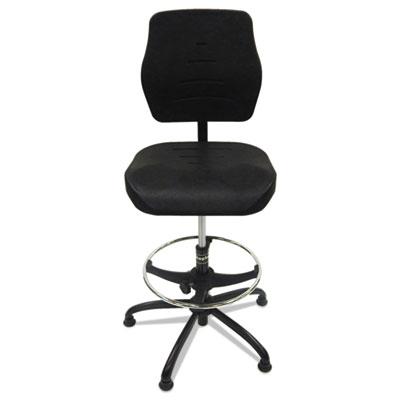 Production Chair, Black, Polyurethane