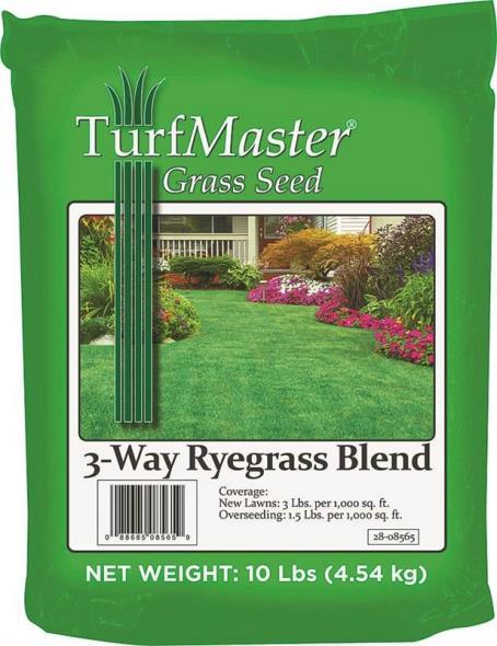 GRASS SEED 3WAY RYE BLEND 10LB