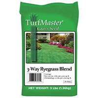 GRASS SEED 3WAY RYE BLEND 3LB