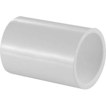 1/2 PVC SCH40 SxS COUPLING