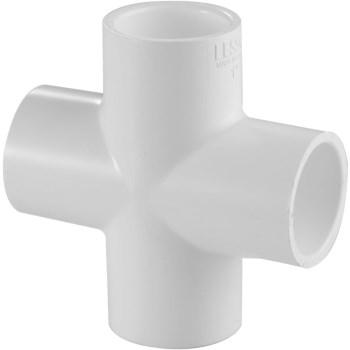 1 IN. PVC SCH40 SxSxSxS CROSS