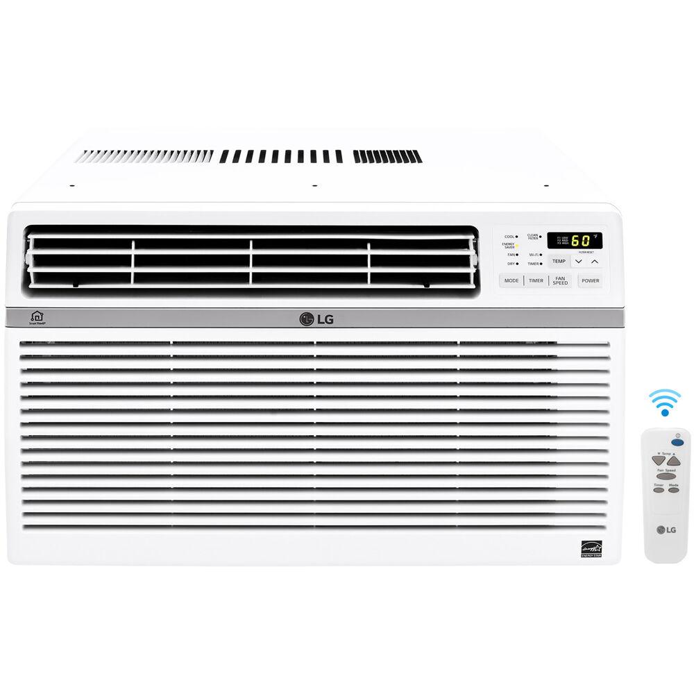 18,000 BTU Window Air Conditioner w/Wifi Controls