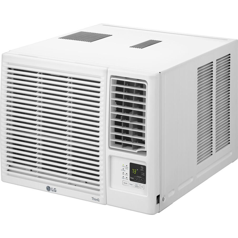 18,000 BTU Heat/Cool Window Air Conditioner w/Wifi Controls