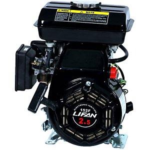 Lifan LF152F-3Q Industrial Grade Overhead Valve Engine, 97.7 cc, 3 hp, 3600 rpm, Recoil