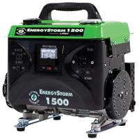 Equipsource EnergyStorm ES1500-CA Portable Generator, 120 VAC, 12 A, 1500/1200 W, 4-Stroke OHV
