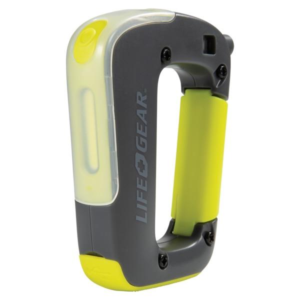 Life+Gear 41-3932 250-Lumen USB-Rechargeable Clip-Light Flashlight