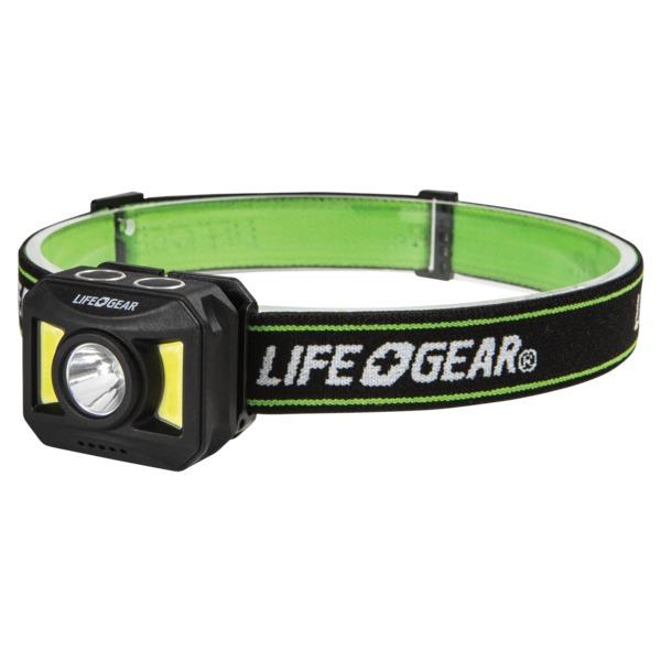 Life+Gear 41-3919 300-Lumen USB-Rechargeable Headlamp