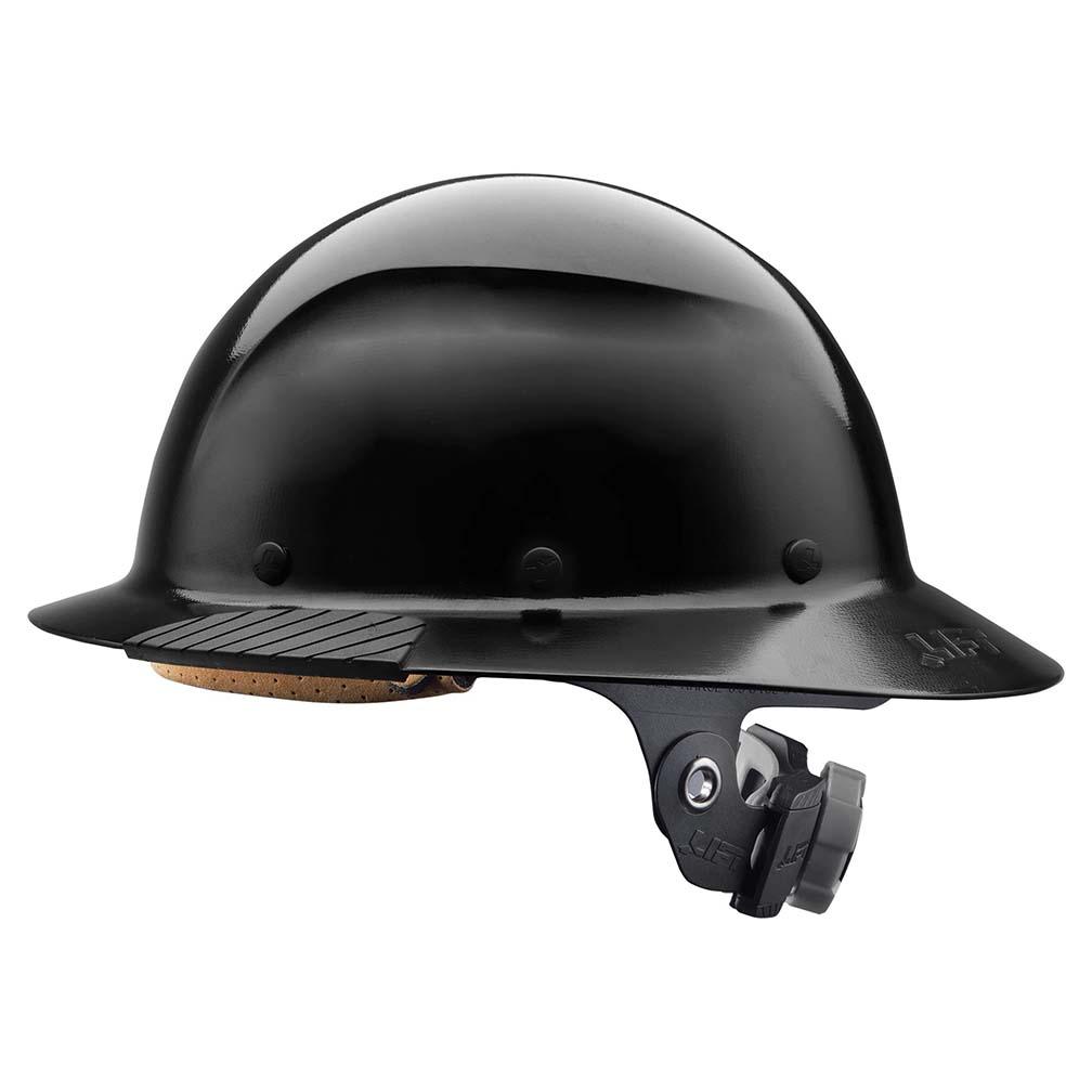 Lift Safety DAX Fiber Resin Full Brim Black