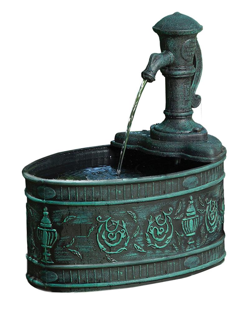 Little Giant Fa C V Calabria 566760 Classical Fountain Kit, 120 gph, Polyethylene