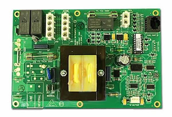 Circuit Board, RS80R1, Dreamaker (Balboa), M7, Heat Jacket, 8 Pin Phone Cable