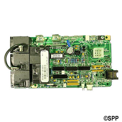 Circuit Board, Leisure Bay (Balboa), V124R/240R1, Lite Leader, 8 Pin Phone Cable