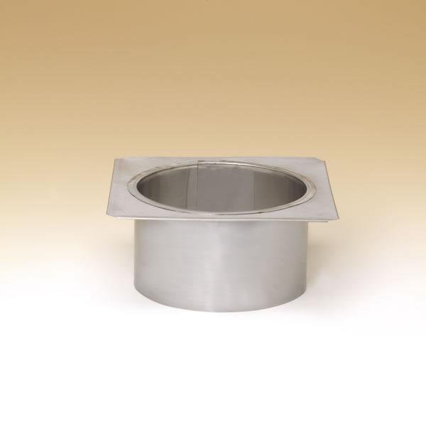 "6"" Lock-Top Adaptor For Round Flue Tiles"