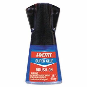 Super Glue Brush On, 0.17 oz, Clear